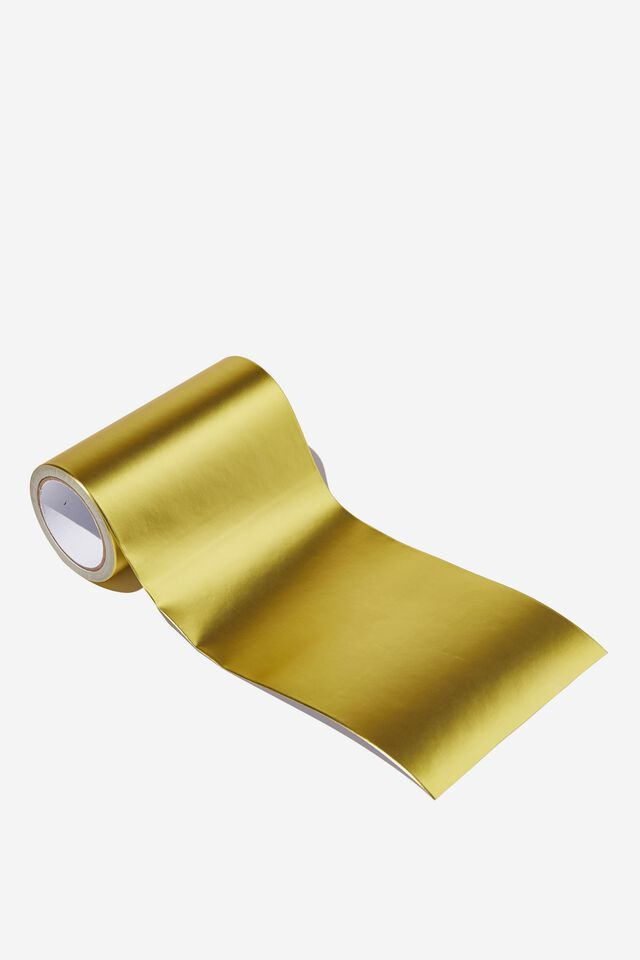 Wrapping Paper Band Rolls, GOLD