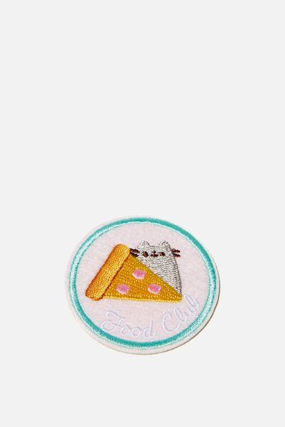 Lcn Fabric Badge, LCN PUSHEEN FOOD CLUB
