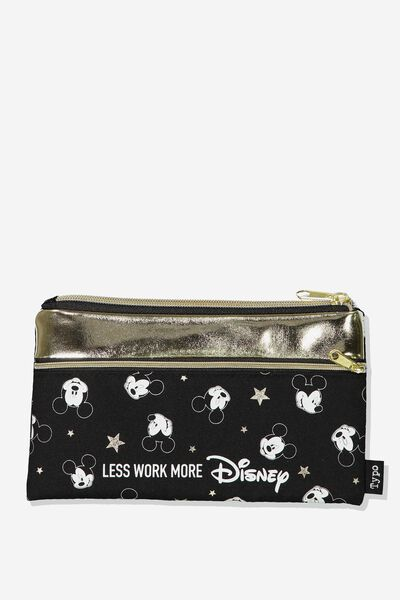 Archer Pencil Case, LCN MICKEY FACES