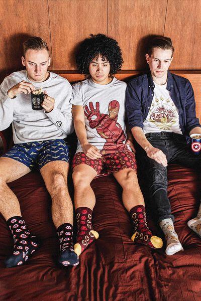 Personalised Novelty Pyjama Set, LCN IRON MAN