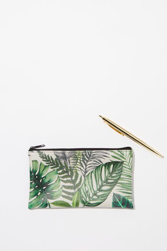 Pencil Case Gift Set, FERN FOLIAGE