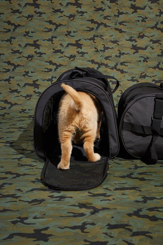Explorer Pet Duffle Bag, BLACK