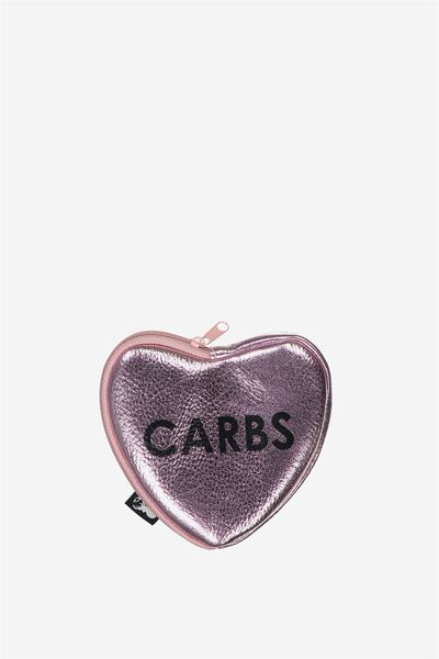 Cashed Up Coin Purse, I LOVE CARBS