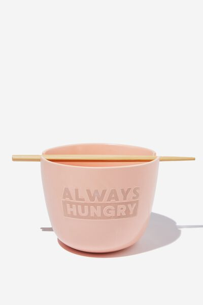 Feed Me Bowl, ALWAYS HUNGRY PEACH CANDY