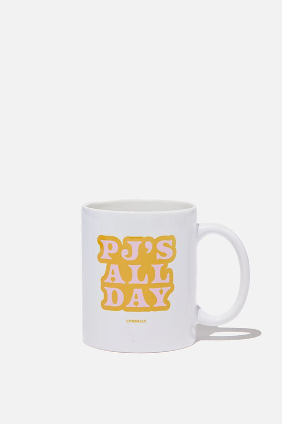 Limited Edition Anytime Mug, PJS ALL DAY