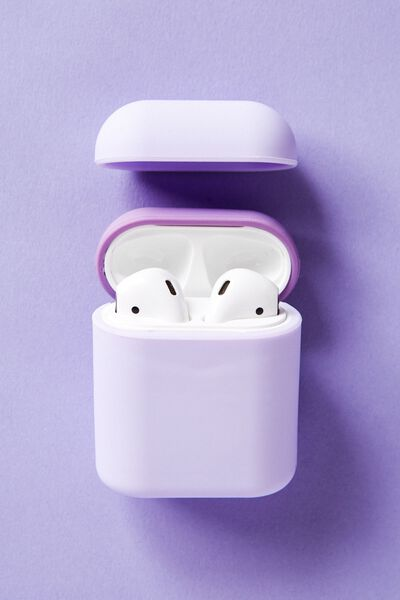 Ear Bud Sleeve, PALE LILAC & LILAC