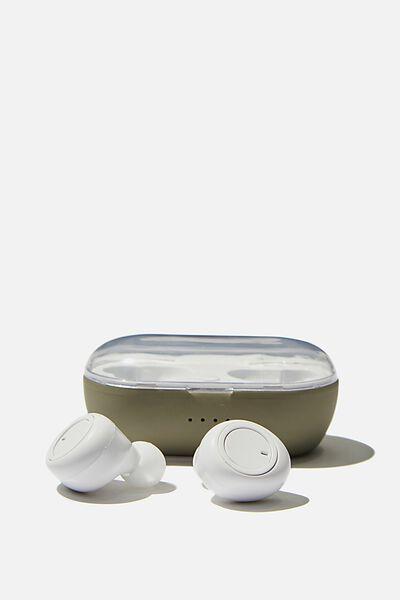 Wireless Earbuds, KHAKI