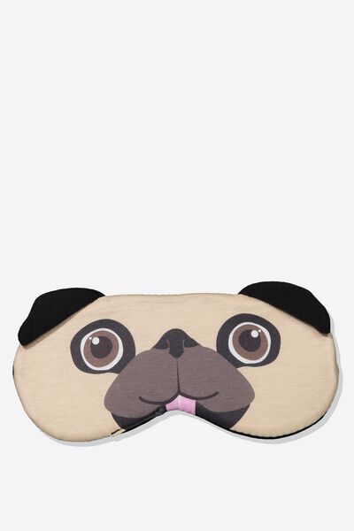 Premium Sleep Eye Mask, NOVELTY PUG