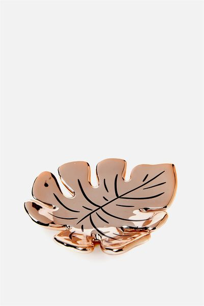 Novelty Trinket Tray, LEAF