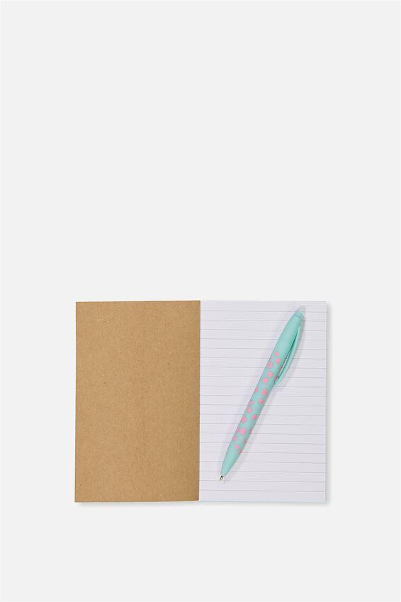 Initial Notebook Set, A - AQUA