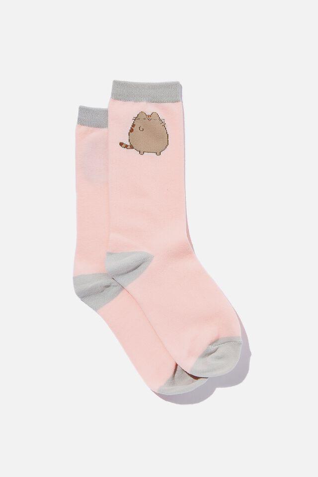 Pusheen Socks, LCN PUSHEEN WINK