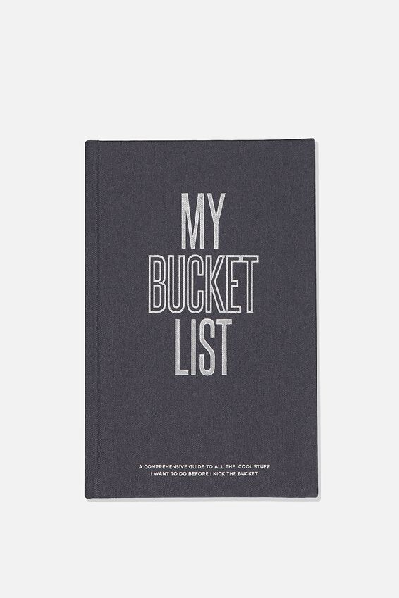 A5 Bucket List Activity Book, MY BUCKET LIST