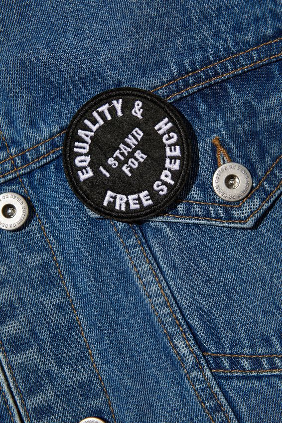 Fabric Badge, EQUALITY