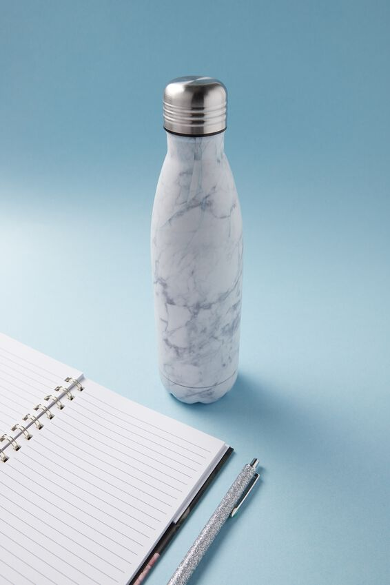 Metal Drink Bottle, MARBLE