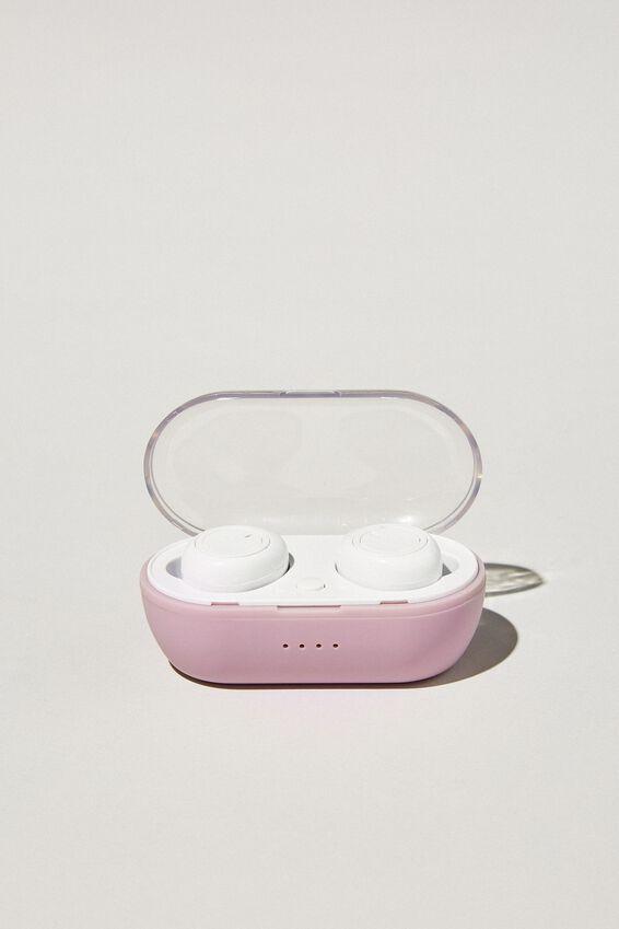 Wireless Earbuds, HEATHER