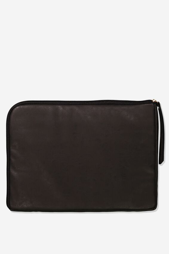 Premium Laptop Case 15 Inch, BLACK CROC