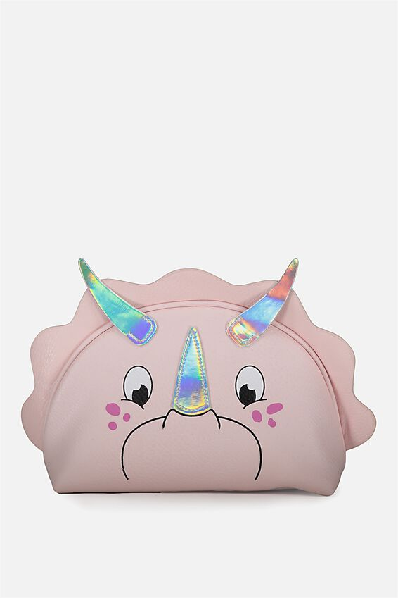 Novelty Cosmetic Bag, TRICERATOPS