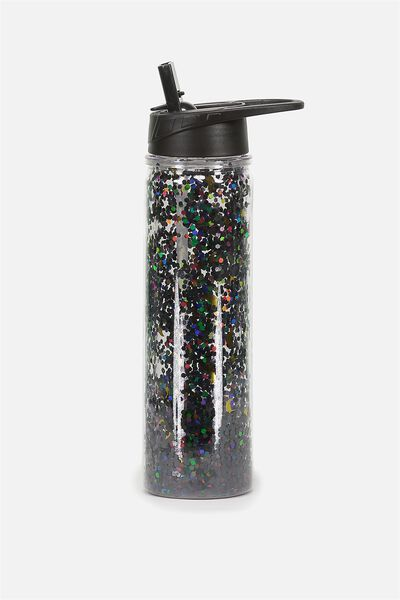 Double Walled Water Bottle, STARS & MOON PRINTED