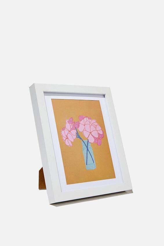A5 Framed Print, GERANIUM