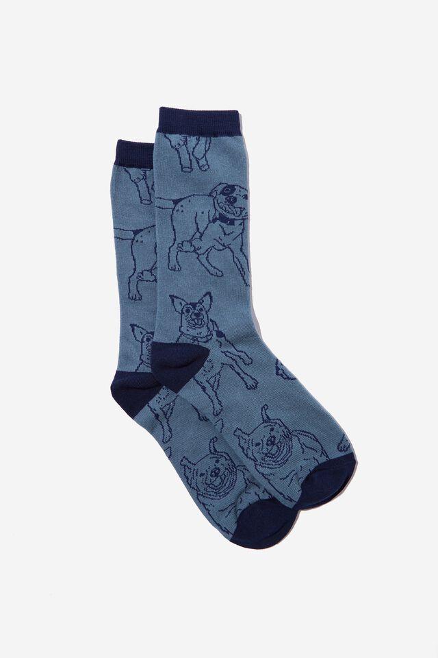 Socks, DOG GONE BLUE