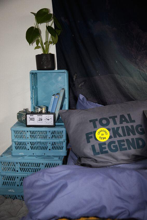 Sleepy Head Pillowcase Set, TOTAL F@#KING LEGEND!!