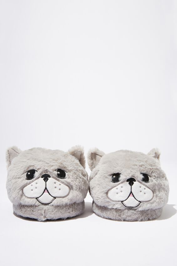 Novelty Slippers, FURRY CAT