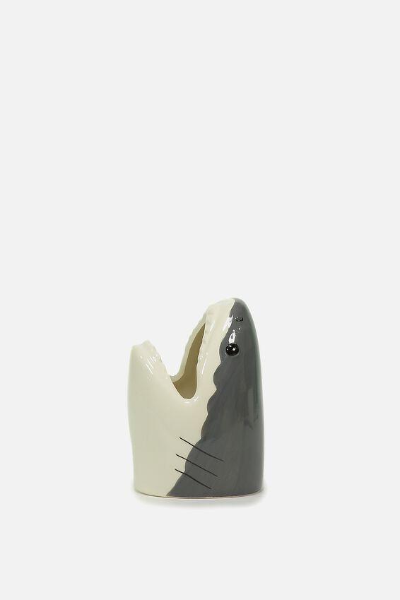 Pen Holder, SHARK