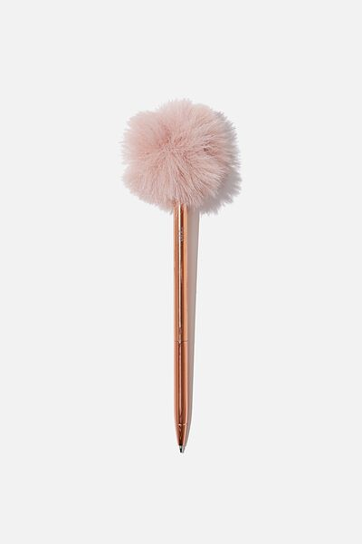 Fluffy Pen, DUSTY PINK