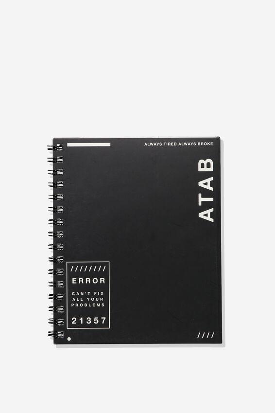 A5 Campus Notebook - Rec, ATAB