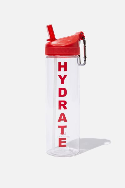 The Clipper Drink Bottle, HYDRATE