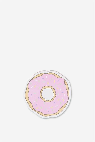 Novelty Sticky Notes - 60 Pages, DONUT
