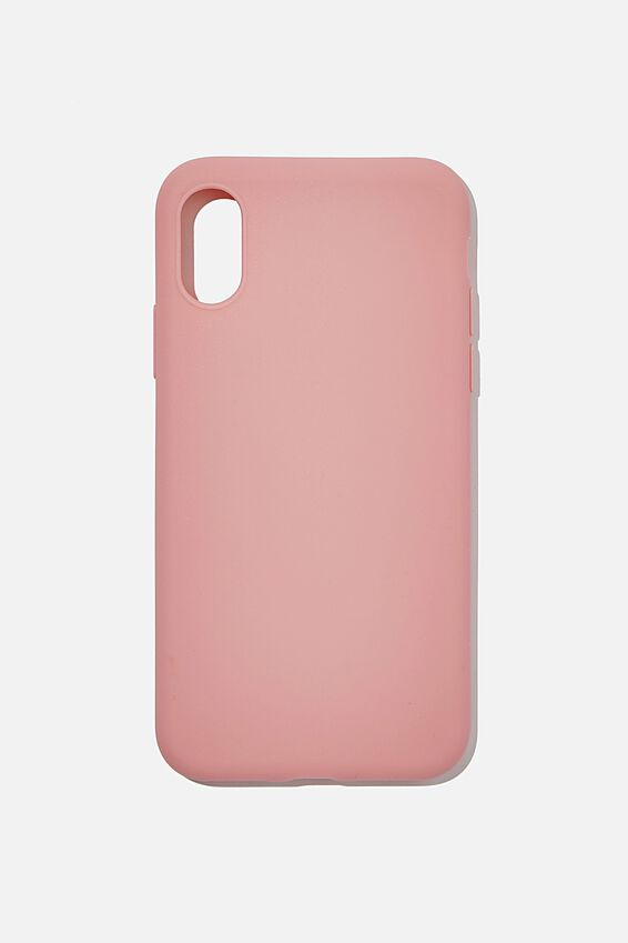 Recycled Phone Case iPhone X, Xs, DUSTY ROSE