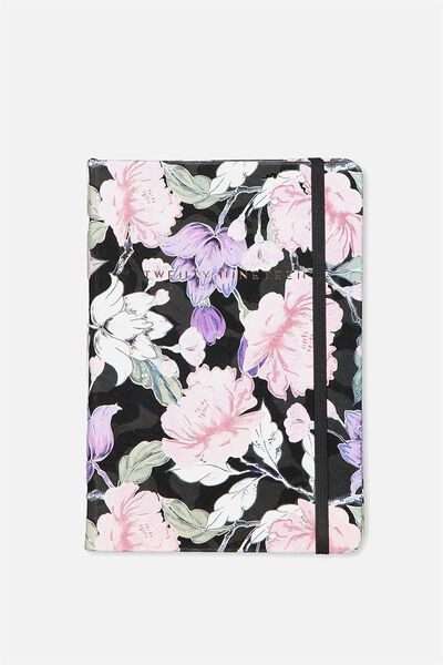 2019 A5 Medium Daily Buffalo Planner, HAZEL FLORAL