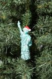 Resin Christmas Ornament, STATUE OF LIBERTY