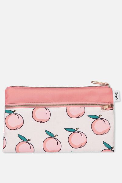 Archer Pencil Case, PEACHES