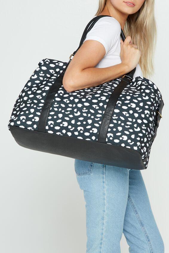 Neo Weekender Duffel Bag, LEOPARD PRINT