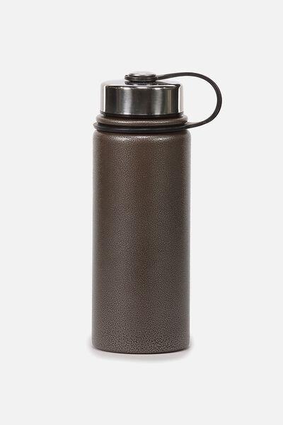 The Striker Metal Drink Bottle, GREY POWDER