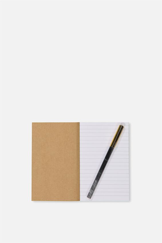 Initial Notebook Set, D - WHITE