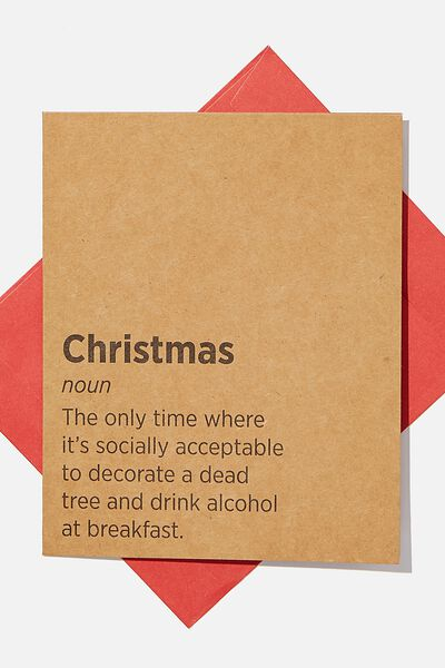 Christmas Card 2020, CHRISTMAS NOUN!