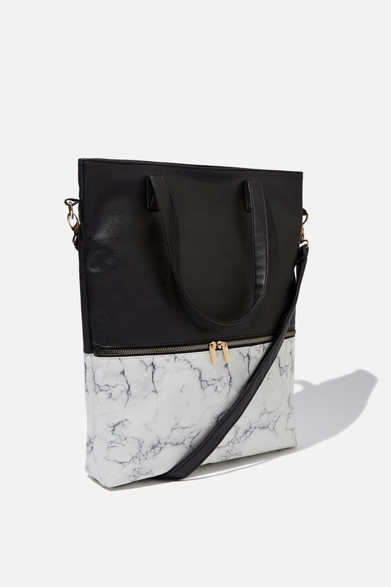 Laptop Tote Bag 15 inch, MARBLE