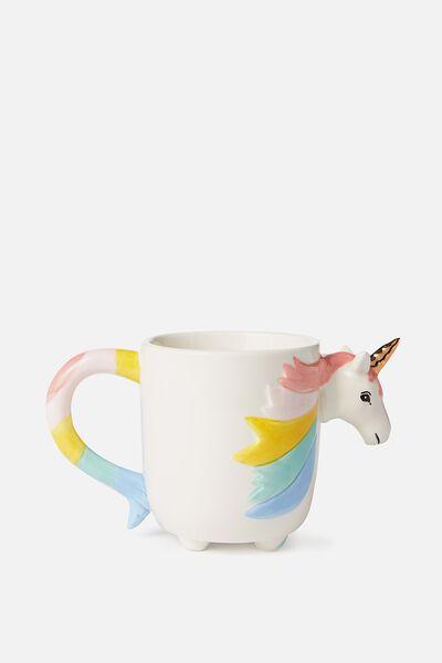 Novelty Shaped Mug, YOU-NICORN