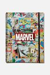 A4 Marvel Spinout Notebook Recycled, LCN MARVEL COMIC