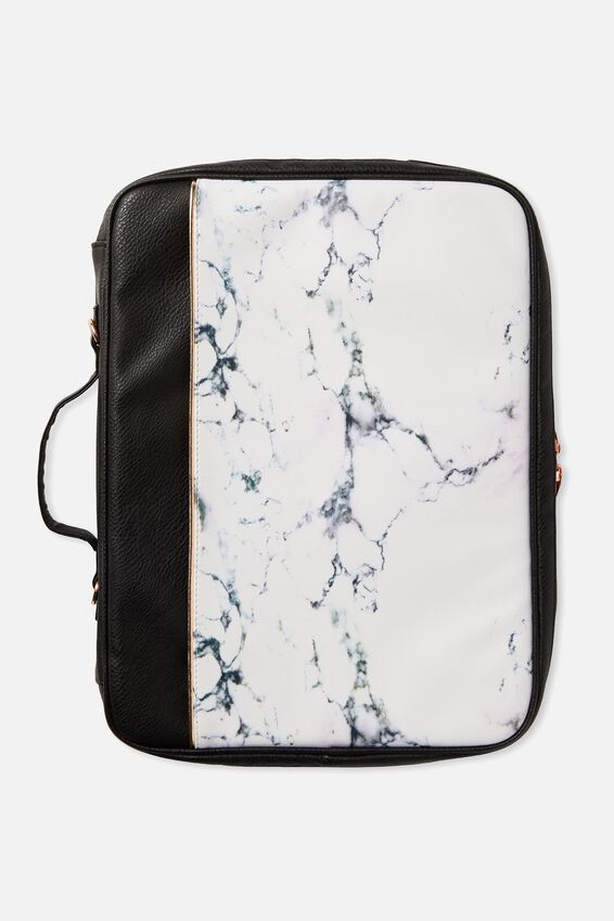 Mobile Laptop Folio 15 Inch, LUSH MARBLE