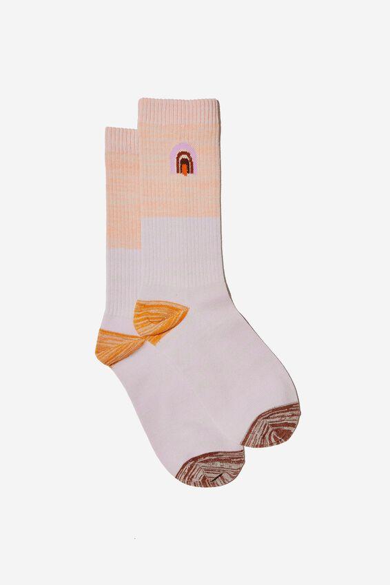 Socks, RAINBOW MELANGE
