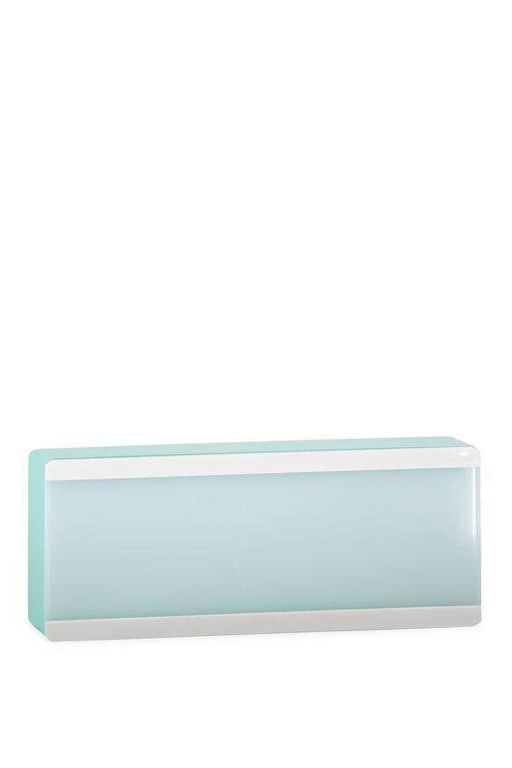 Mini Single Line Light Box, AQUA BLUE