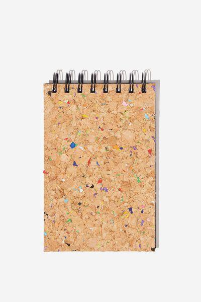 Flip It Sketch Book, CORK