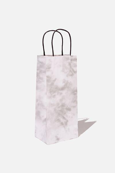 Bottle Gift Bag, SPACE GREY TIE DYE