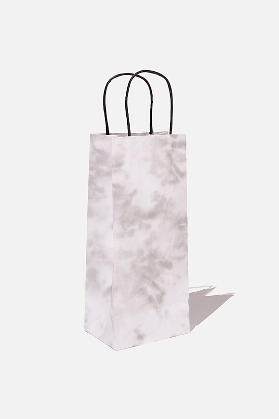 Bottle Gift Bag, SPACE GREY TIE DYE