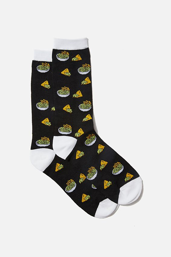 Socks, GUAC   NACHOS
