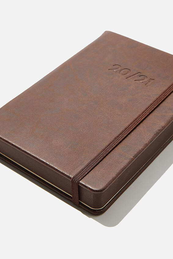 2020 21 A5 Daily Buffalo Diary, RICH TAN
